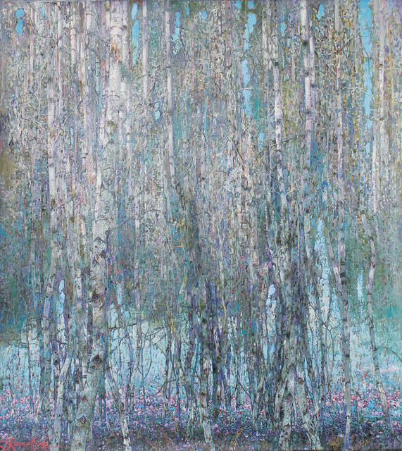 , 'Violet Forest,' 2018, Paul Scott Gallery & galleryrussia.com