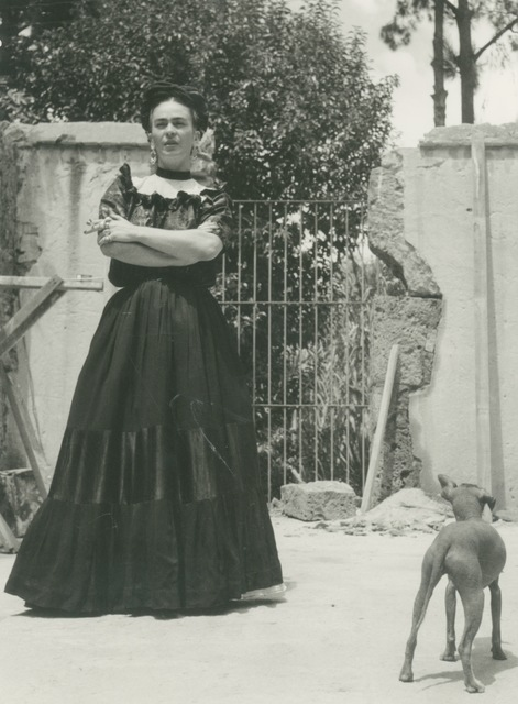 , 'Frida with Her Hairless Dog,' 1944, Bentley Gallery