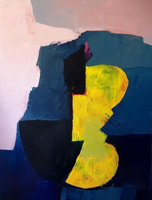 , 'The guitarist,' 2016, Agnès Szaboova Gallery