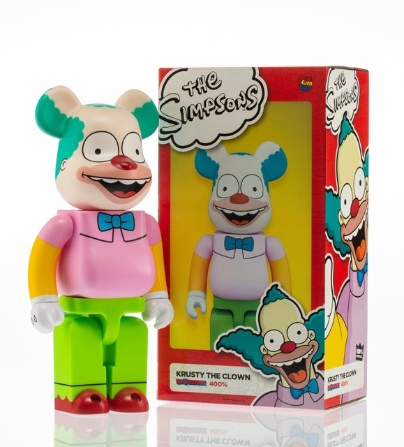 BE@RBRICK X The Simpsons, 'Krusty the Clown 400%', 2016, Heritage Auctions
