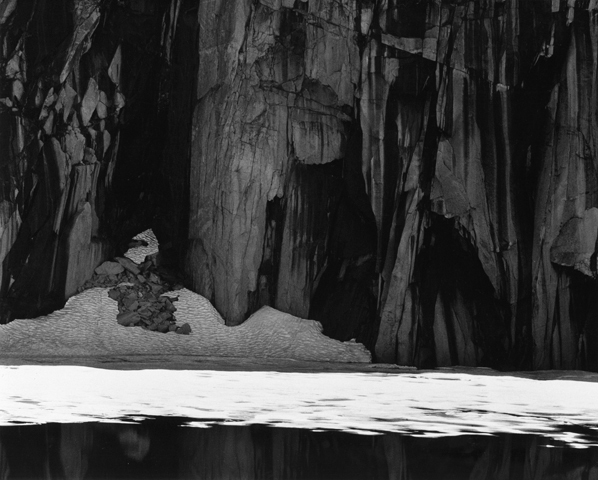 , 'Frozen Lake & Cliffs, Kaweah Gap, Sierra Nevada, California,' 1927-printed c. 1970s, Scott Nichols Gallery