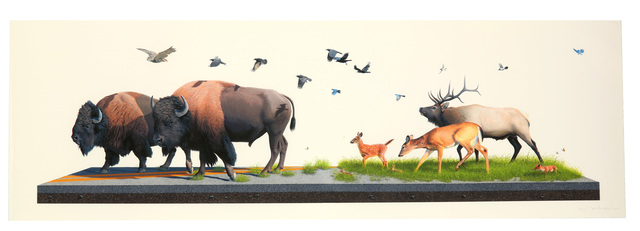 Josh Keyes, 'Sowers', 2012, Chiswick Auctions
