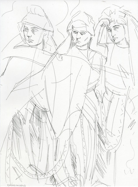 , 'Rhinemaidens (Norns), 1876,' 2011, Two Palms