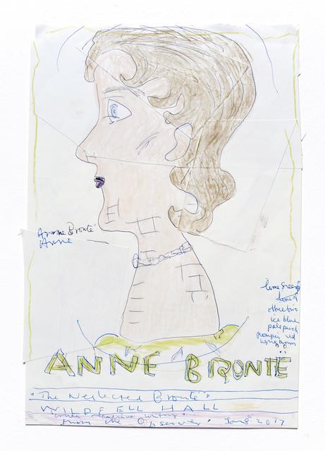 , 'Anne Bronte,' 2016, CHOI&LAGER