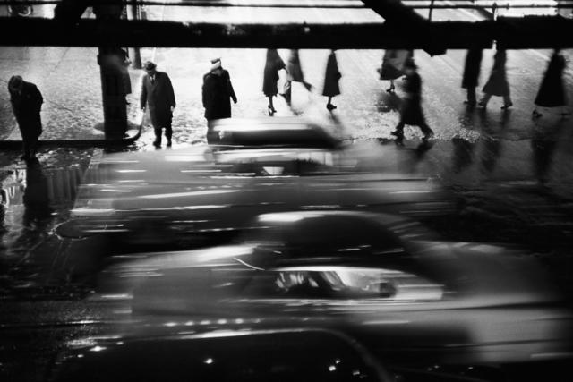 , 'Rushing cars, New York, USA, 1953,' 1953, David Hill Gallery