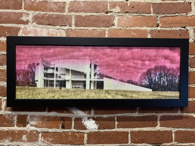 , 'Pink Atheneum ,' 2019, Mason-Nordgauer Fine Arts Gallery