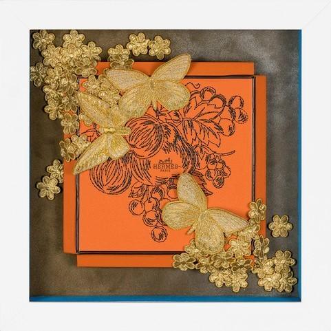 , 'Hermès Golden Bounty,' 2018, Roman Fine Art