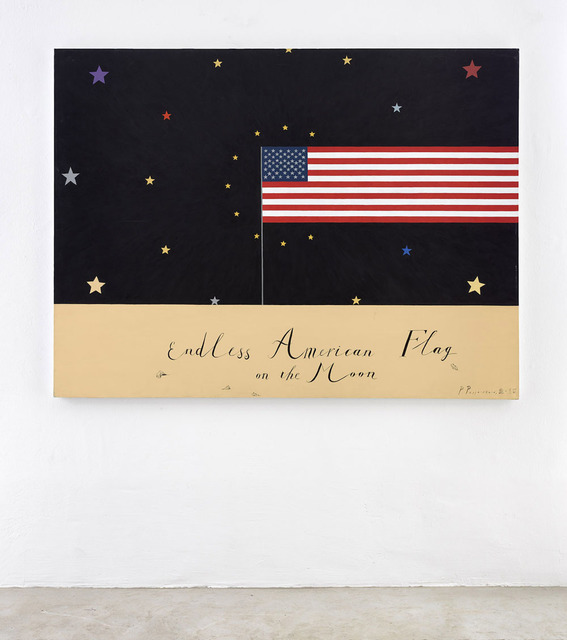 , 'Endless American Flag,' 2016, KEWENIG