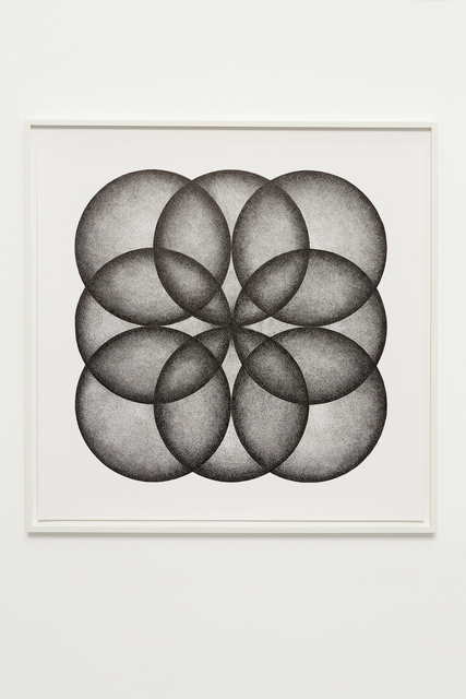 , 'Eight circles forming a square,' 2018, i8 Gallery