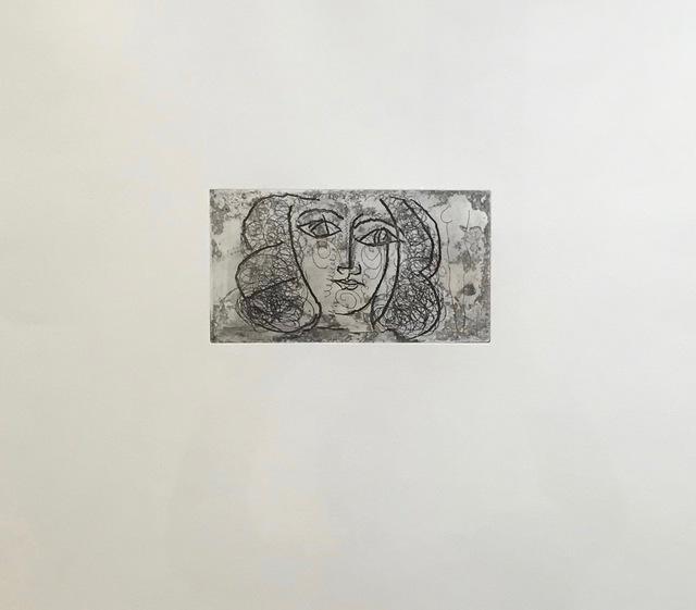 Pablo Picasso, 'Tete de femme de face', Alan Kluckow Fine Art