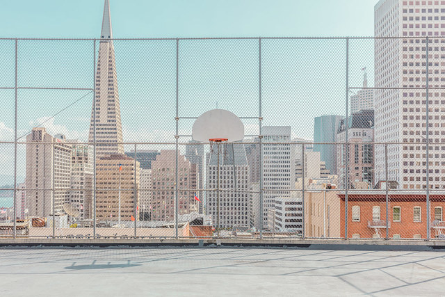 , 'Basketball Playground,' 2016, ArtStar