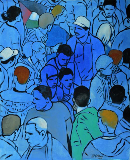 , 'Posture,' 2019, Zawyeh Gallery