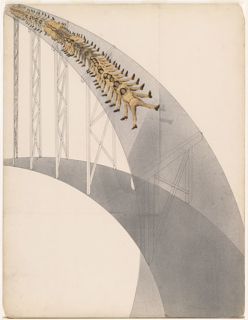 , 'Rutschbahn (Slide),' 1923, Art Institute of Chicago