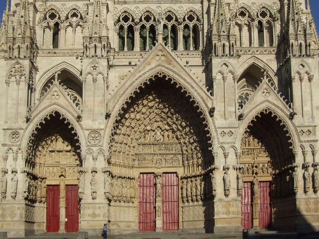 'Amiens Cathedral: Portals, west façade', ca. 1220-36/40, Sculpture, Art History 101