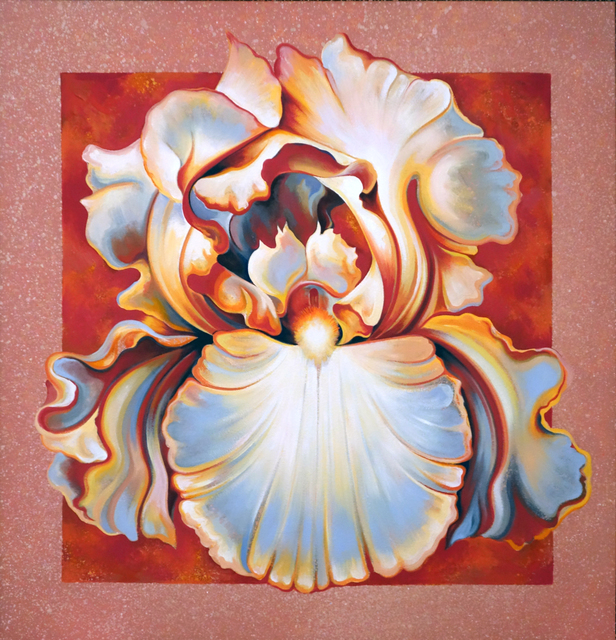 , 'Apricot Iris,' 1987, Bill Hodges Gallery