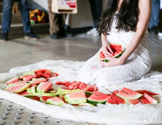 Romina de Novellis, 'Watermelon', 2015, Performance Art, Kreëmart