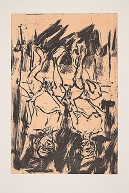 Georg Baselitz, 'Gartenlaube', 2017, Galerie Boisseree