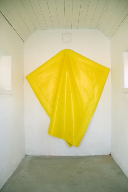 , 'Deflated Yellow,' 2010, Galleri Andersson/Sandstrom