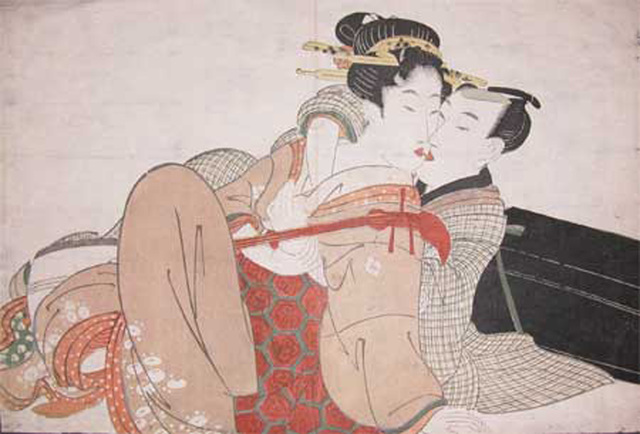 Kitagawa Utamaro, 'The Music Lesson', ca. 1804, Ronin Gallery