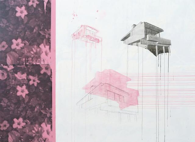 , 'Silver Lake Print Flowers,' 2017, Cristina Guerra Contemporary Art