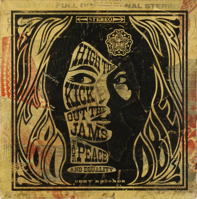 Shepard Fairey, 'High Time', 2007, Chiswick Auctions