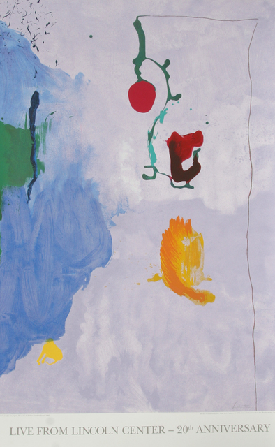 Helen Frankenthaler, 'Live from Lincoln Center, 20th Year (Eve)', 1995, RoGallery