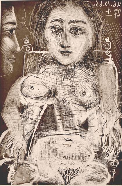 , 'Portrait of Jacqueline in the Armchair | Portrait de Jacqueline au Fauteuil,' 1966, Gilden's Art Gallery