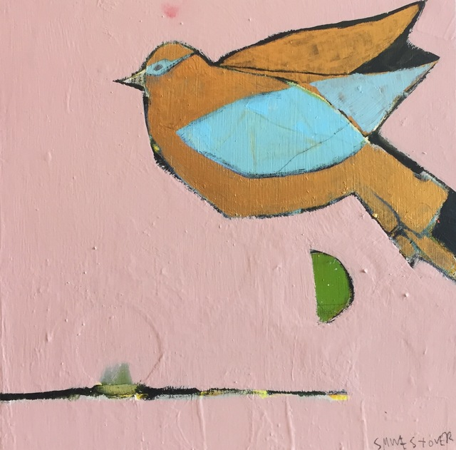 "Sara Matson Westover, '""Gold Bird""', 2017, M.A. Doran Gallery"