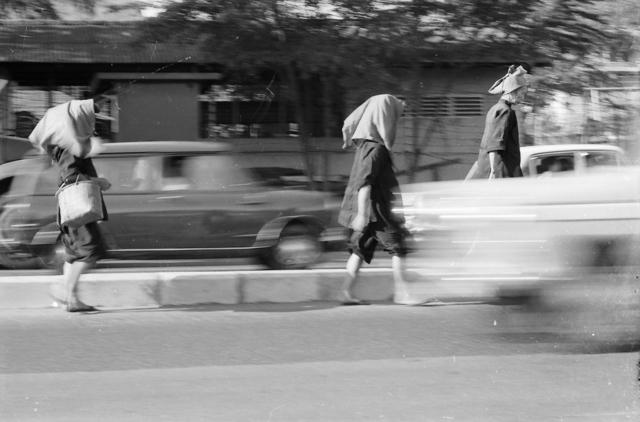, 'Samsui Women Walking As If On Wings,' 1970, Yeo Workshop