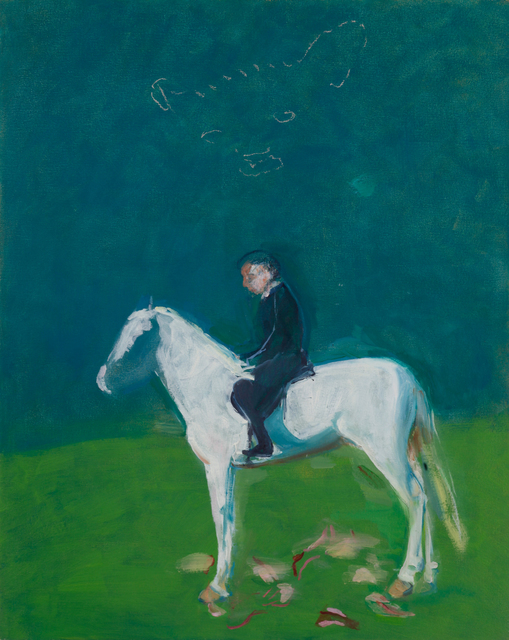 , 'Rider on White Horse,' 2018, Fort Worth Contemporary Arts
