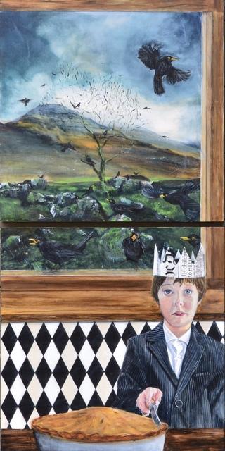 Graham Bruce-Richards, 'Four and Twenty Blackbirds ', 2019, Gallery at Zhou B Art Center