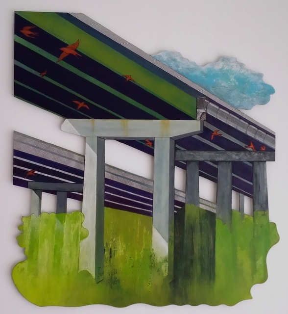 , 'Under The Overpass (I-95 Savannah River Bridge),' 2015, Imlay Gallery