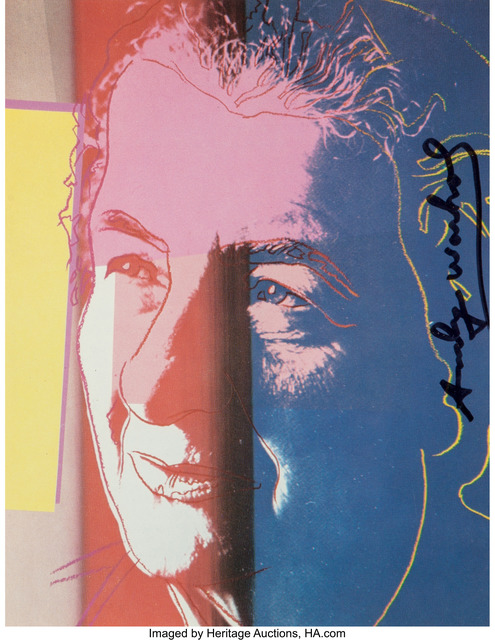 Andy Warhol, 'Golda Meir, from Ten Portraits of Jews of the Twentieth Century', 1980, Heritage Auctions