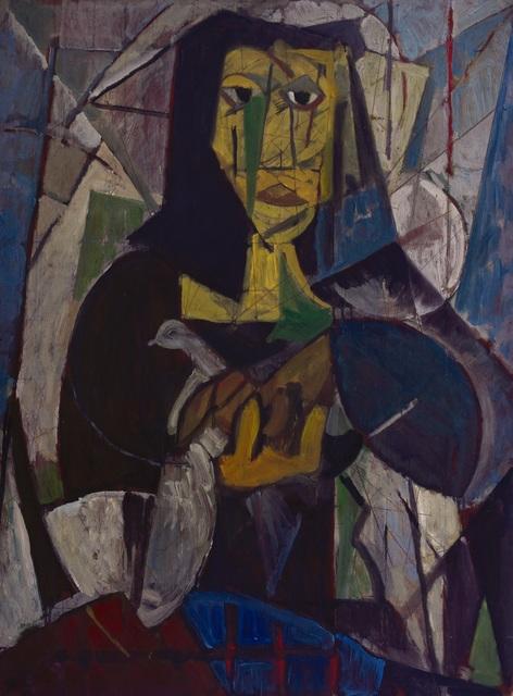 , 'Mujer del pájaro,' 1950, Galería de las Misiones
