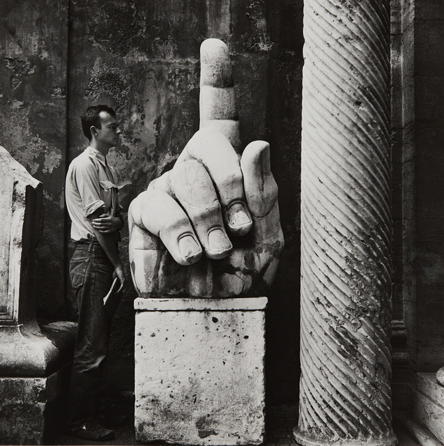 Robert Rauschenberg, 'Cy + Relics—Rome', 1952, Photography, Gelatin silver print, printed later, Phillips
