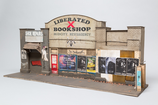 , 'Liberated Bookshop,' 2017, Muriel Guépin Gallery