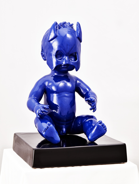 Ebe Tirassa, 'Batman', ca. 2019, Sculpture, Glazed ceramic, Collezionando Gallery