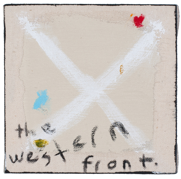 , 'The Western Front,' 2015, The Road Gallery