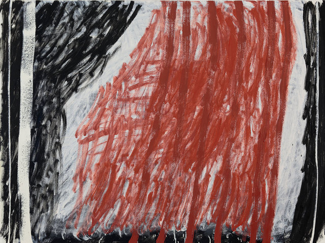 , 'Red, White, Black ,' 2016, Flinders Lane Gallery