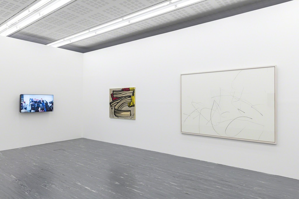 "Exhibition View ""The Gestural""