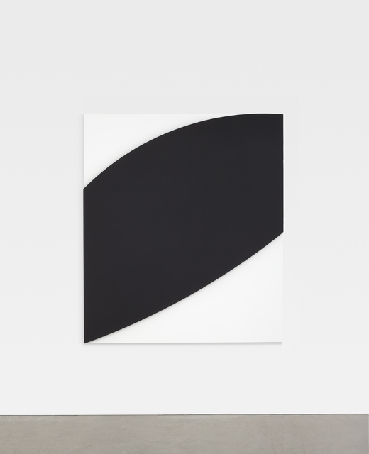 , 'Black Relief Over White I,' 2012, Matthew Marks Gallery