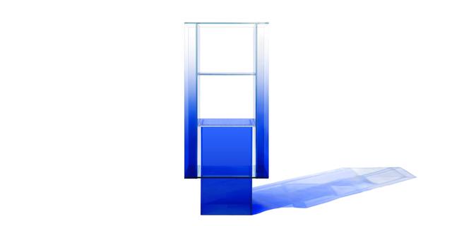 Studio BUZAO, 'Blue Glass Shelf ', 2018, Gallery ALL
