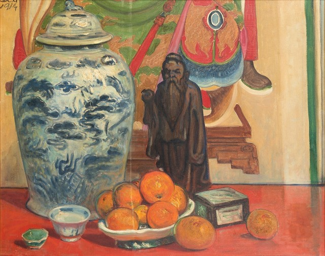 Galileo Chini, 'Untitled', 1914-1915, Painting, Oil on canvas, Finarte