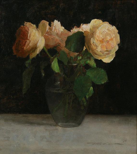 , 'Garden Roses,' 2018, Maxwell Alexander Gallery