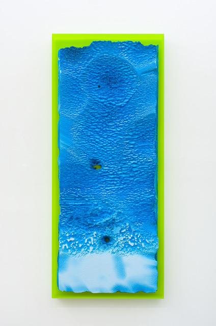 , 'Croûûûte Criarde, saison bleue ,' 2017, Galerie Thomas Bernard