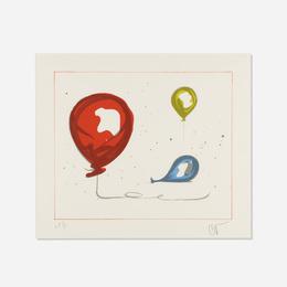Balloons from The Landfall Press 30th Anniversary portfolio