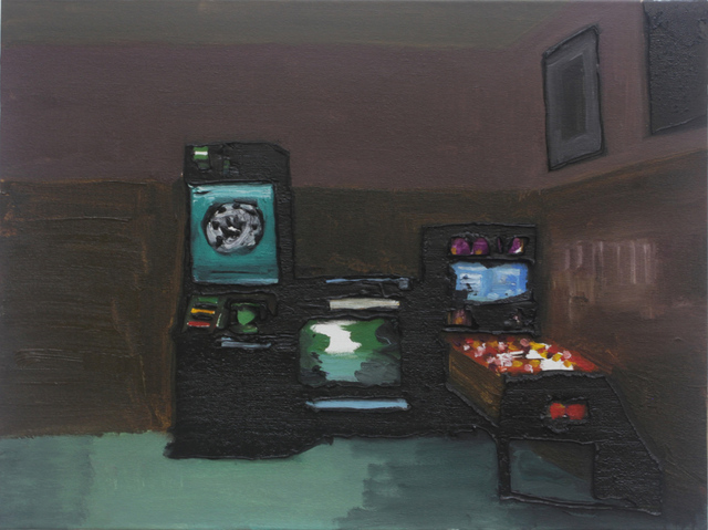 , 'Interior with game machines,' 2016, Galeria Millan