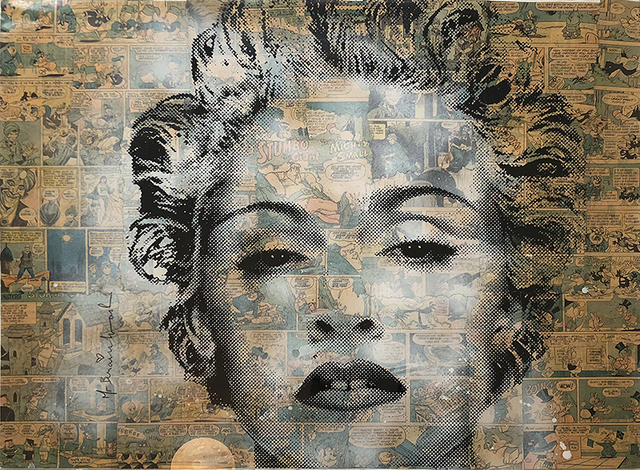 , 'Marilyn Madonna,' 2010, Bruce Lurie Gallery
