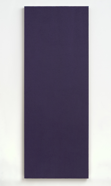 Phil Sims, 'Blue Violet Studio Painting', 2004, Brian Gross Fine Art