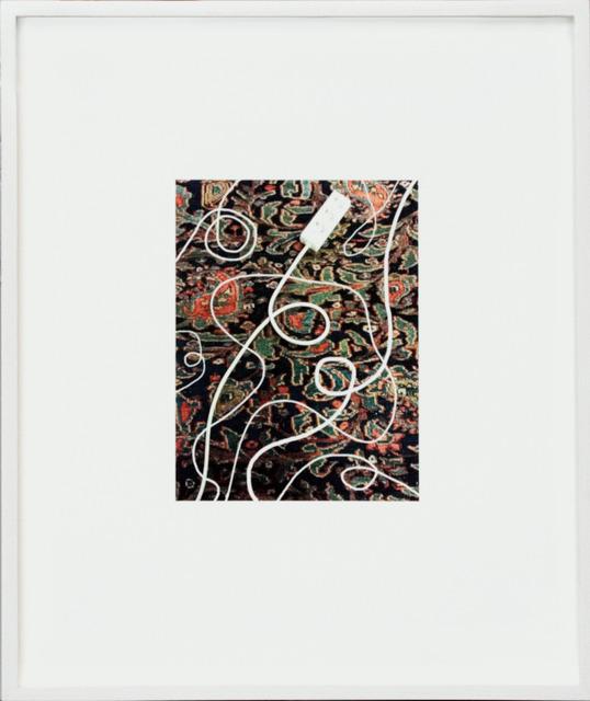 , 'Pen:WeißeKabel,' 2013, Corkin Gallery